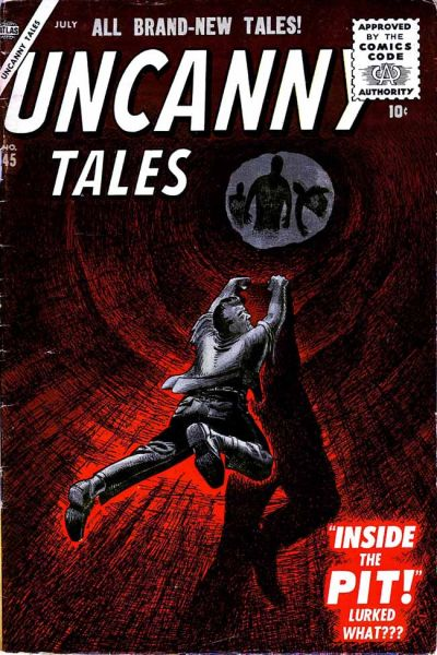 Cover for Uncanny Tales (Marvel, 1952 series) #45