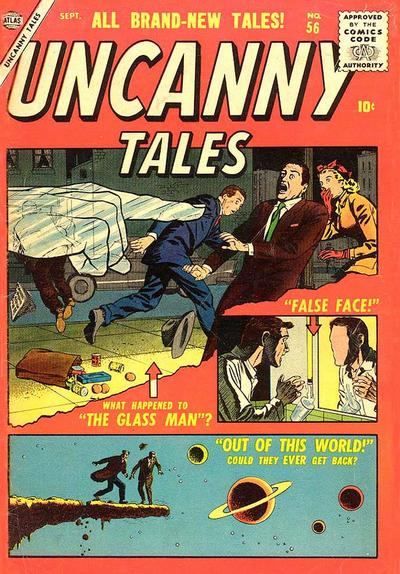 Cover for Uncanny Tales (Marvel, 1952 series) #56