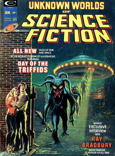Cover for Unknown Worlds of Science Fiction (Marvel, 1975 series) #1