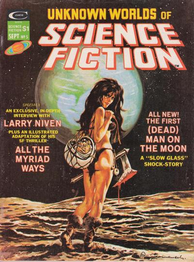 Cover for Unknown Worlds of Science Fiction (Marvel, 1975 series) #5