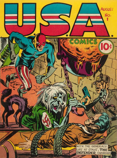 Cover for USA Comics (Marvel, 1941 series) #1