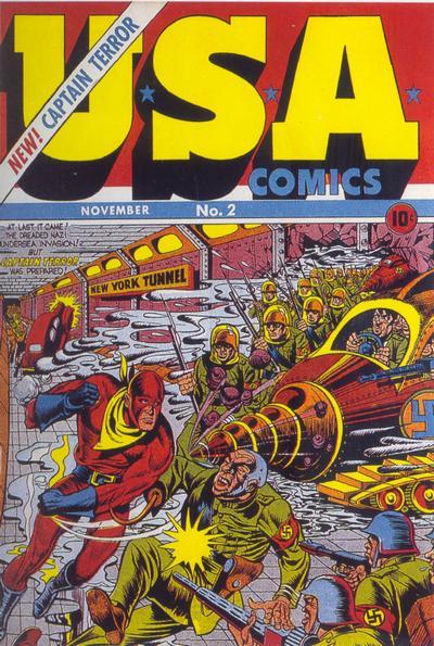 Cover for USA Comics (Marvel, 1941 series) #2