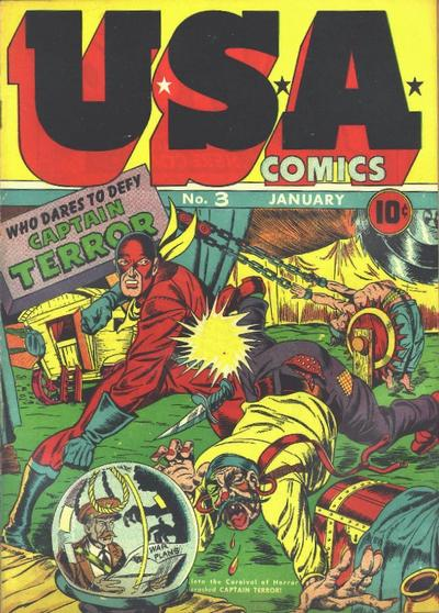 Cover for USA Comics (Marvel, 1941 series) #3