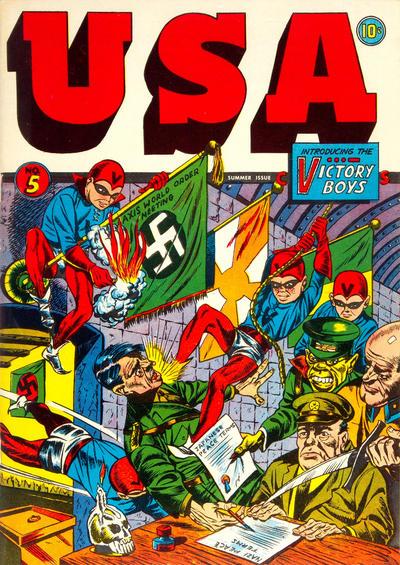 Cover for USA Comics (Marvel, 1941 series) #5