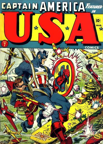 Cover for USA Comics (Marvel, 1941 series) #7