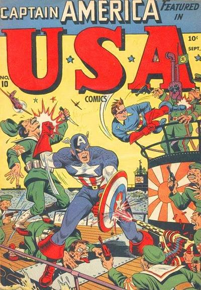 Cover for USA Comics (Marvel, 1941 series) #10