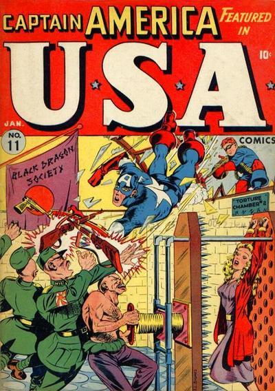 Cover for USA Comics (Marvel, 1941 series) #11