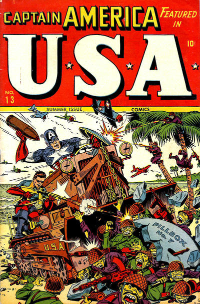 Cover for USA Comics (Marvel, 1941 series) #13