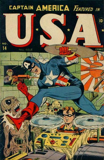 Cover for USA Comics (Marvel, 1941 series) #14