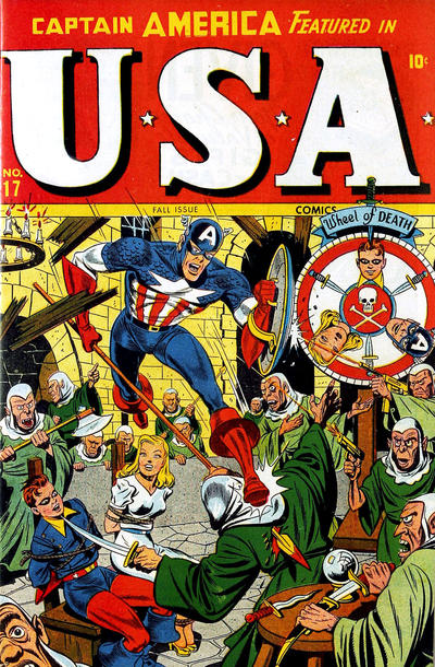 Cover for USA Comics (Marvel, 1941 series) #17
