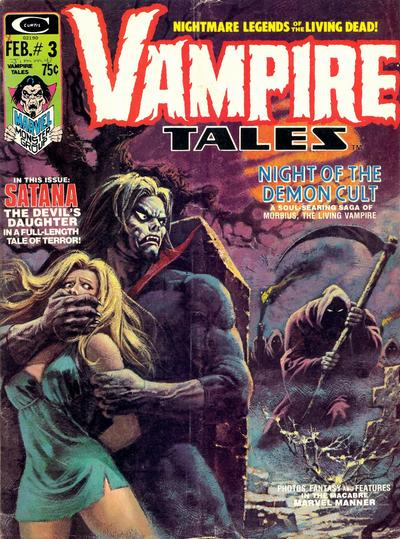 Cover for Vampire Tales (Marvel, 1973 series) #3