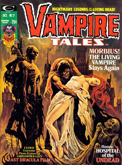Cover for Vampire Tales (Marvel, 1973 series) #7