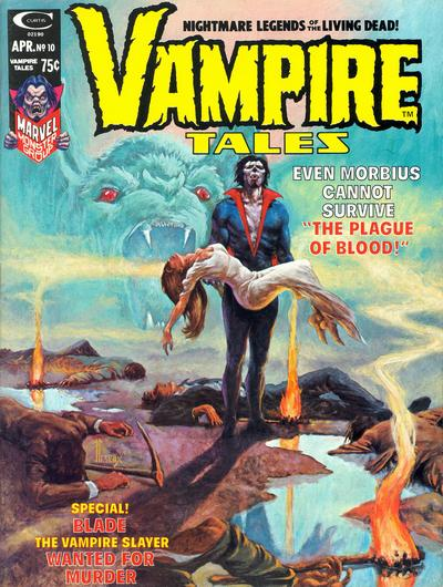 Cover for Vampire Tales (Marvel, 1973 series) #10