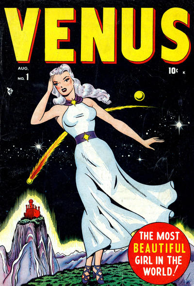 Cover for Venus (Marvel, 1948 series) #1