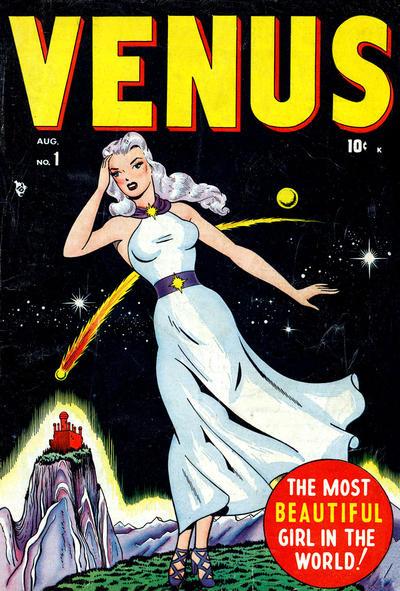 Cover for Venus (Marvel, 1948 series) #1