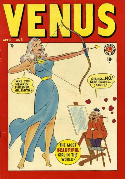Cover for Venus (Marvel, 1948 series) #4