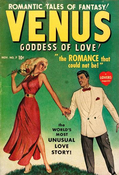Cover for Venus (Marvel, 1948 series) #7