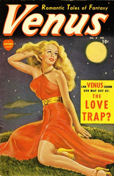 Cover for Venus (Marvel, 1948 series) #8