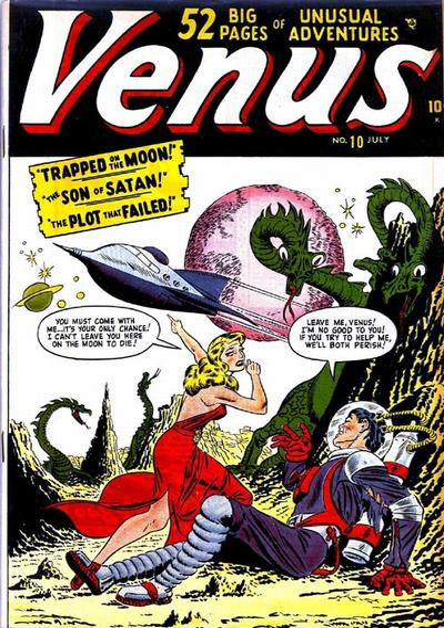 Cover for Venus (Marvel, 1948 series) #10