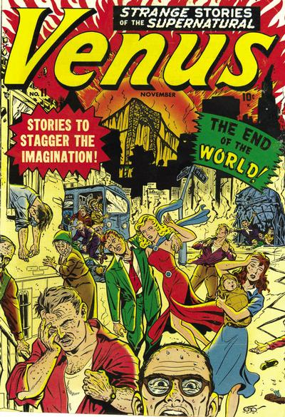 Cover for Venus (Marvel, 1948 series) #11