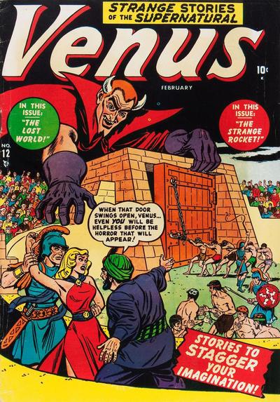 Cover for Venus (Marvel, 1948 series) #12