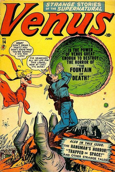 Cover for Venus (Marvel, 1948 series) #14