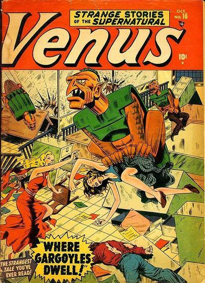 Cover for Venus (Marvel, 1948 series) #16