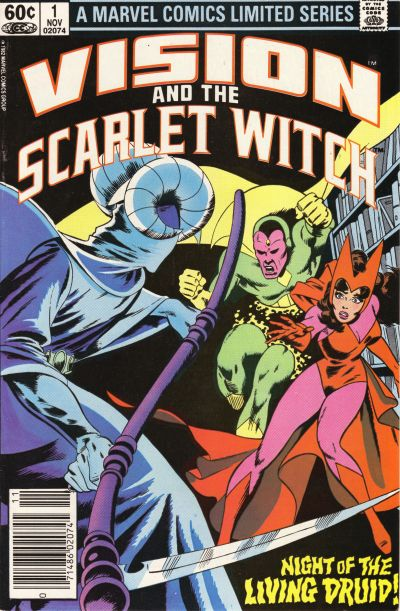 Cover for The Vision and the Scarlet Witch (Marvel, 1982 series) #1