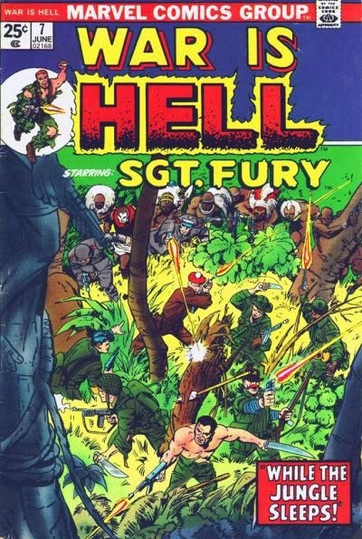 Cover for War Is Hell (Marvel, 1973 series) #7