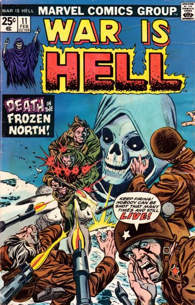 Cover for War Is Hell (Marvel, 1973 series) #11