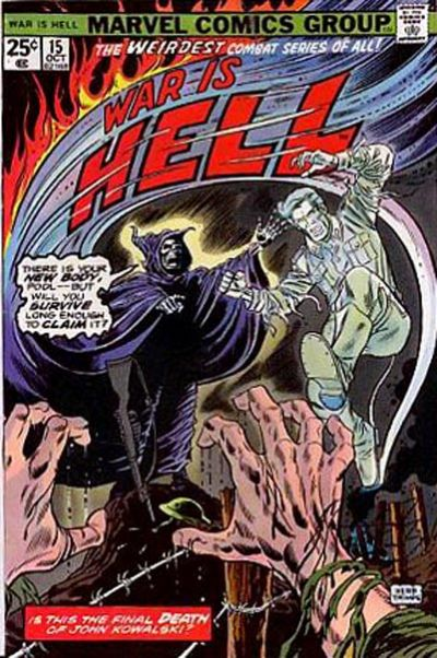 Cover for War Is Hell (Marvel, 1973 series) #15