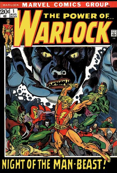 Cover for Warlock (Marvel, 1972 series) #1