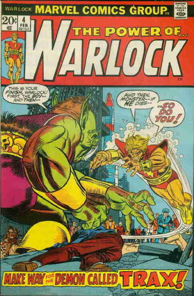 Cover for Warlock (Marvel, 1972 series) #4 [Regular Edition]