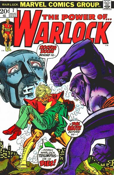 Cover for Warlock (Marvel, 1972 series) #7