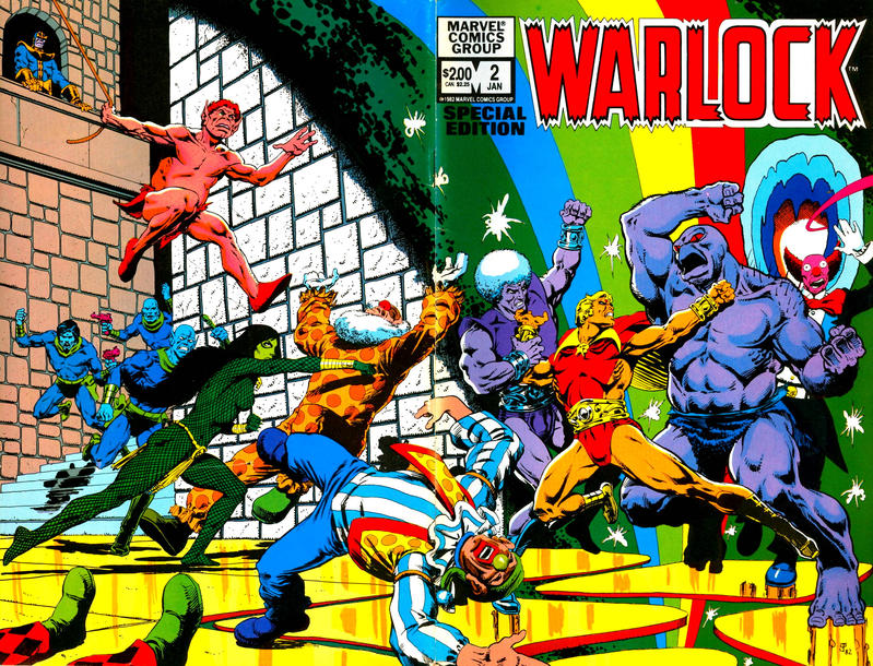Cover for Warlock (Marvel, 1982 series) #2