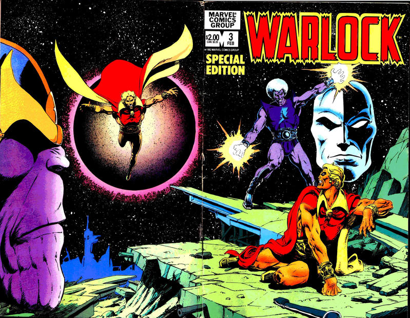 Cover for Warlock (Marvel, 1982 series) #3