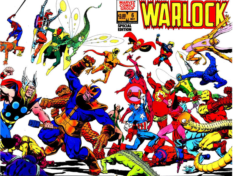 Cover for Warlock (Marvel, 1982 series) #6