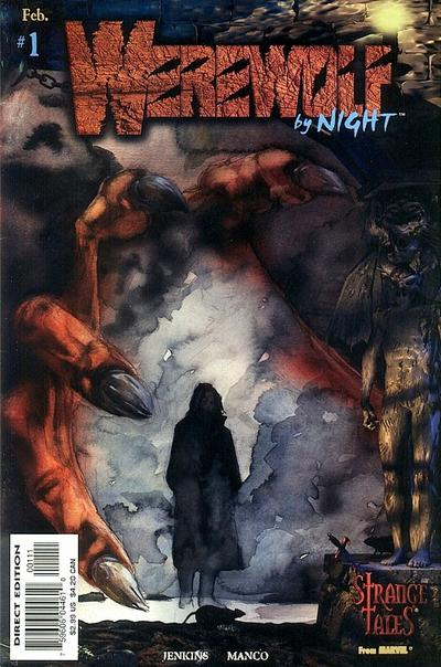 Cover for Werewolf by Night (Marvel, 1998 series) #1