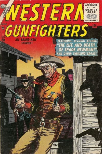 Cover for Western Gunfighters (Marvel, 1956 series) #20
