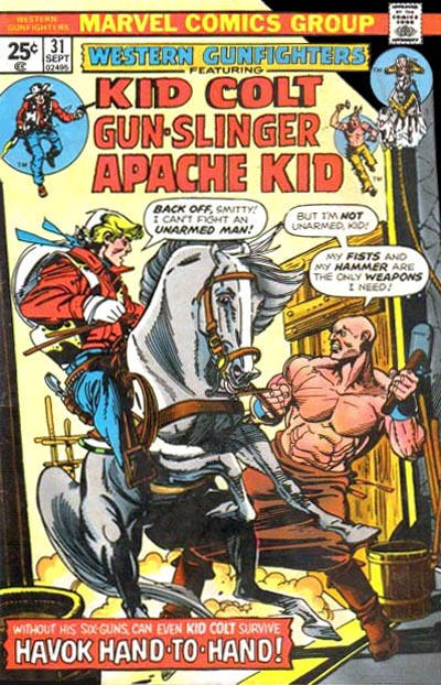 Cover for Western Gunfighters (Marvel, 1970 series) #31