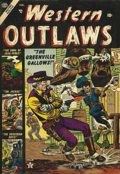 Cover for Western Outlaws (Marvel, 1954 series) #1