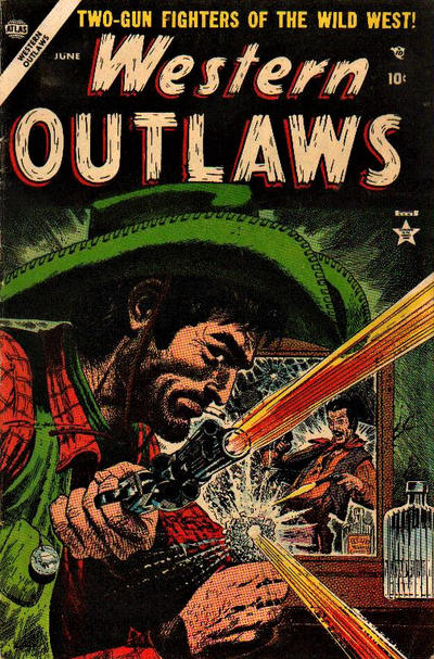 Cover for Western Outlaws (Marvel, 1954 series) #3
