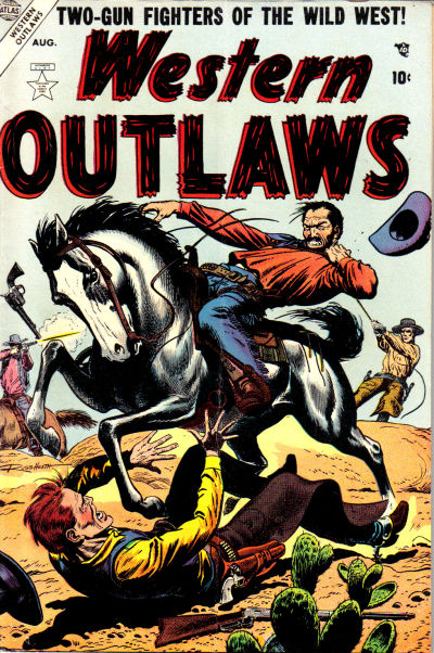 Cover for Western Outlaws (Marvel, 1954 series) #4