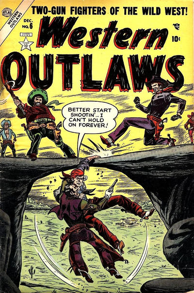 Cover for Western Outlaws (Marvel, 1954 series) #6