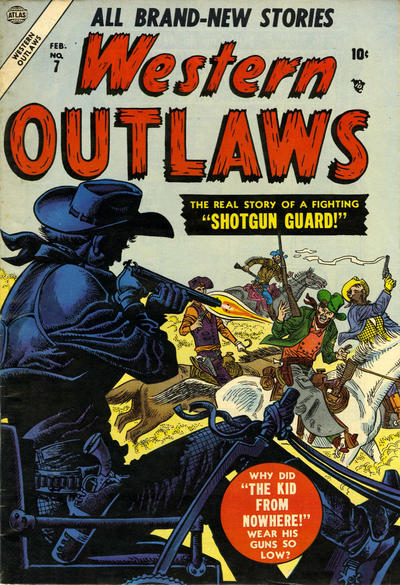 Cover for Western Outlaws (Marvel, 1954 series) #7