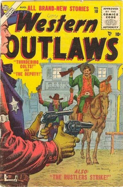 Cover for Western Outlaws (Marvel, 1954 series) #10