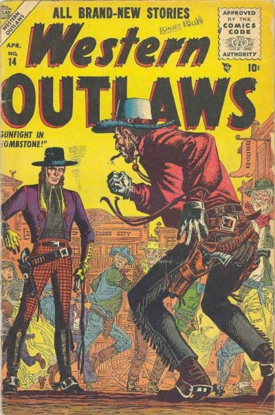 Cover for Western Outlaws (Marvel, 1954 series) #14