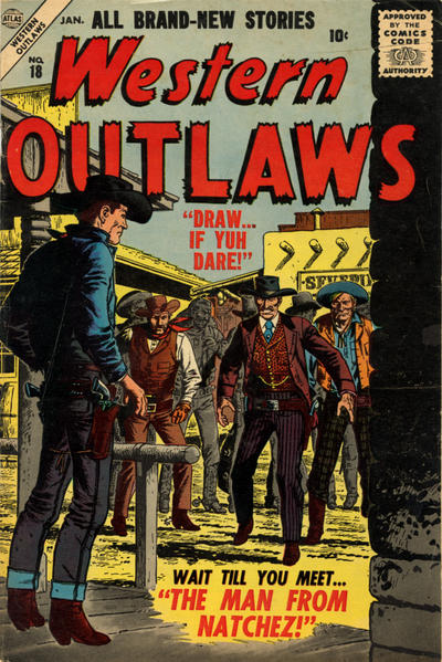 Cover for Western Outlaws (Marvel, 1954 series) #18