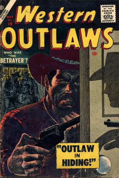 Cover for Western Outlaws (Marvel, 1954 series) #19