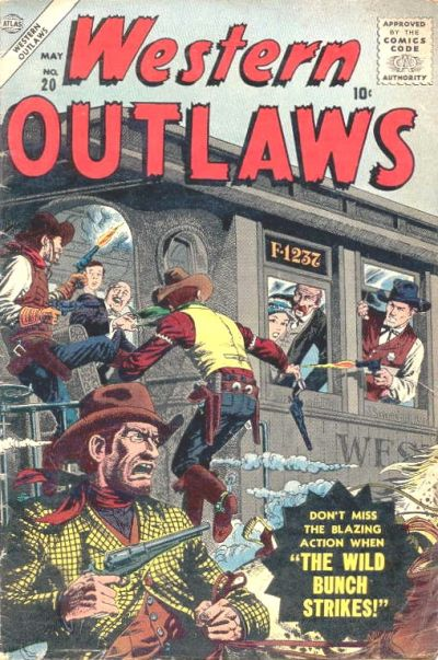 Cover for Western Outlaws (Marvel, 1954 series) #20